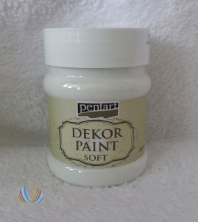 Decor Paint Soft 230ml- biela