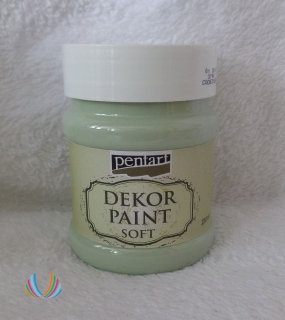 Decor Paint Soft 230ml-country zelená