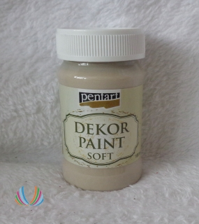Decor Paint Soft 100ml-capuccino