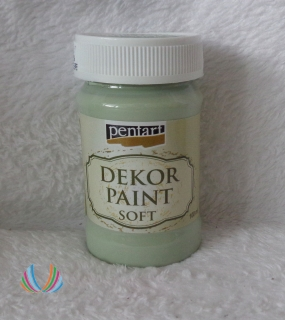 Decor Paint Soft 100ml-country zelená