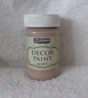 Decor Paint Soft 100ml-mliečna čokoláda