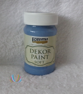 Decor Paint Soft 100ml-džínsovo modrá
