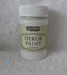 Decor Paint Soft 100ml-biela