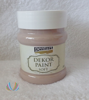 Decor Paint Soft 230ml-mliečna čokoláda
