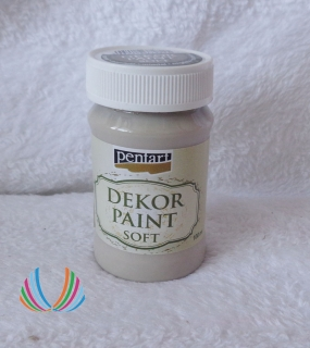 Decor Paint Soft 100ml-mandlová