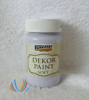 Decor Paint Soft 100ml-svetlofialová