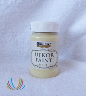 Decor Paint Soft 100ml-škrupinkovo biela