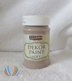Decor Paint Soft 100ml- piesková