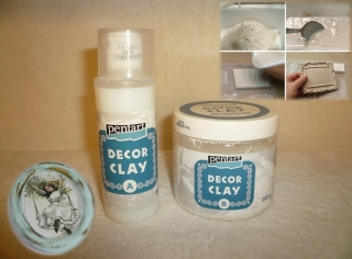 Decor Clay sada 200g