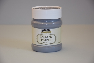 Decort Paint Soft 230ml- grafitová sivá