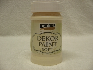 Decor Paint Soft 100ml - slonovinová
