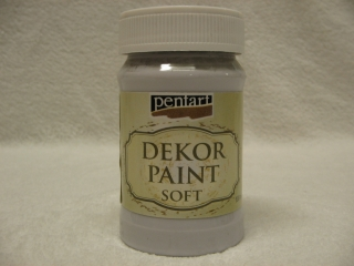 Decor Paint Soft 100 ml - holubia sivá