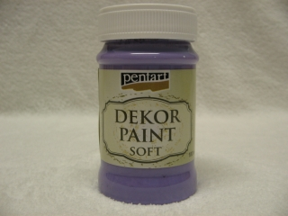 Decor Paint Soft 100ml - fialová